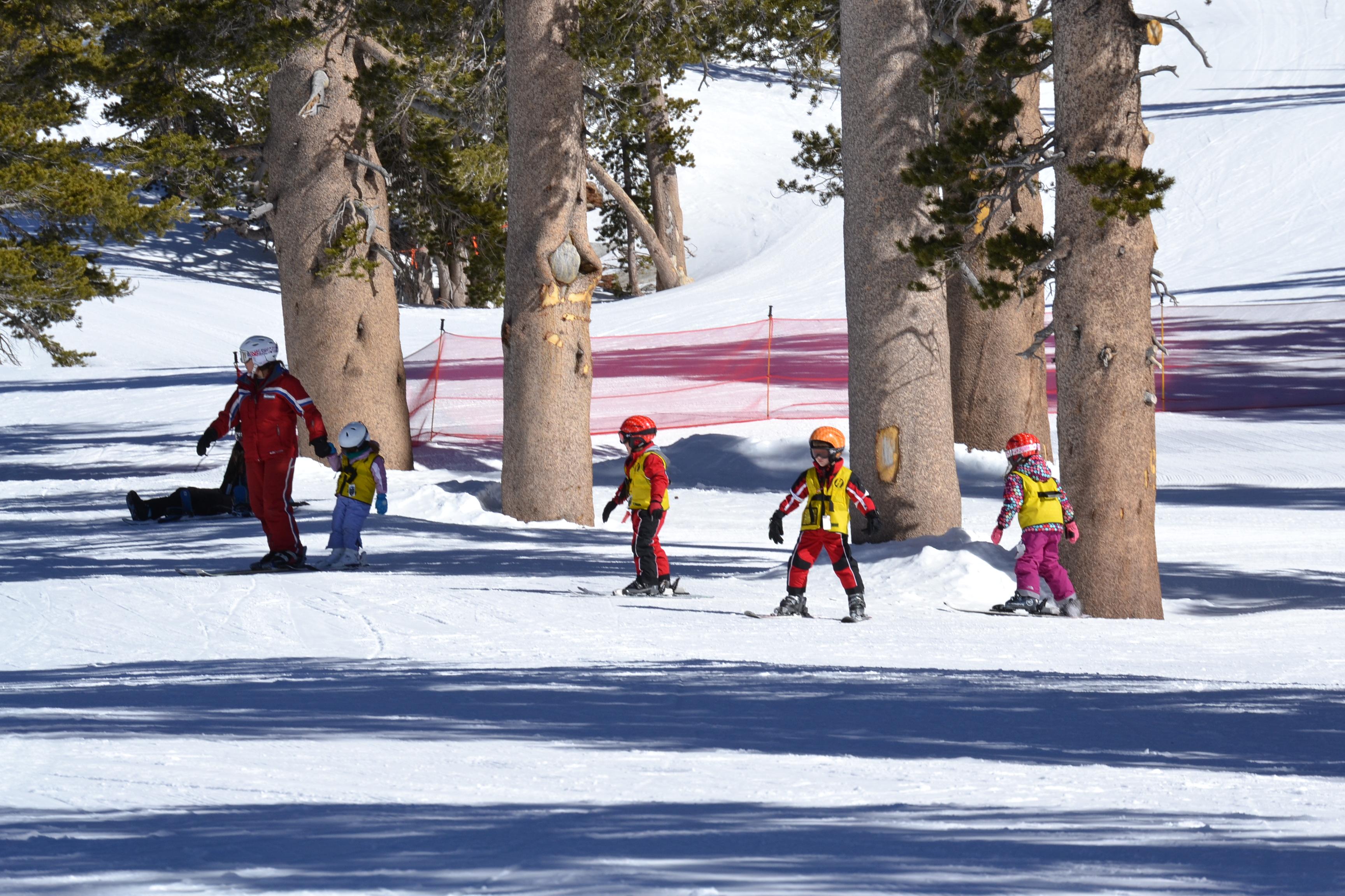 Ski School para crianças