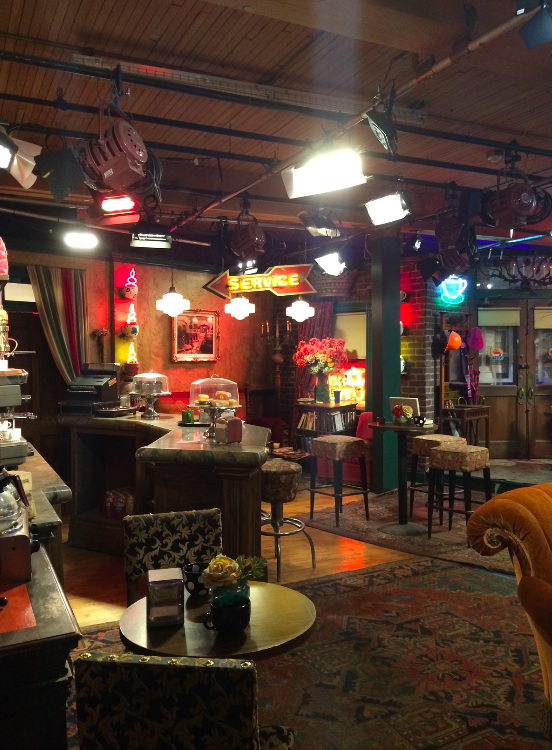 A réplica do Central Perk <3
