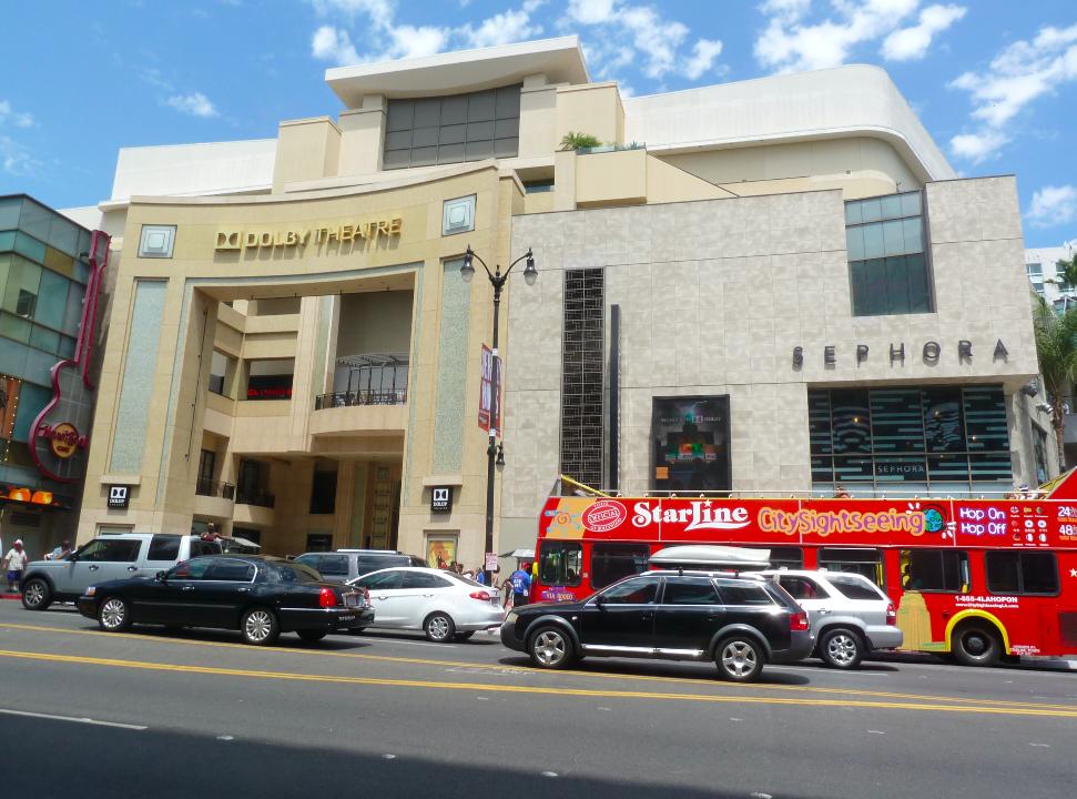 Dolby Theatre, o teatro onde acontece o Oscar