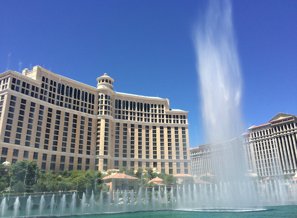 Fountains of Bellagio - o show das águas