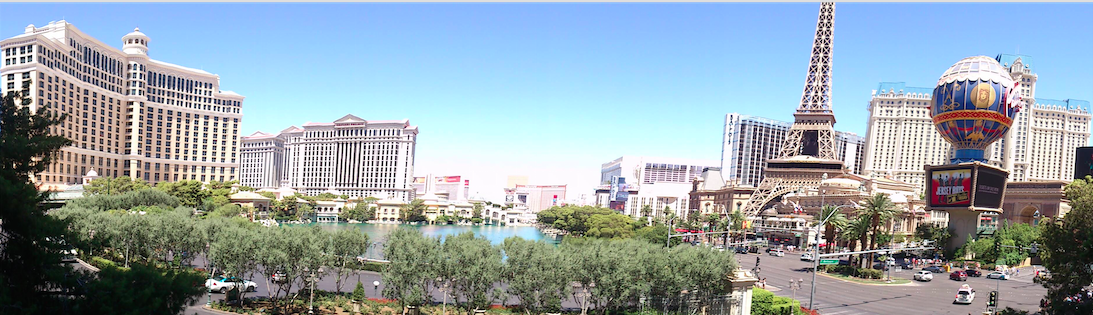 4 dias em Las Vegas – Roteiro
