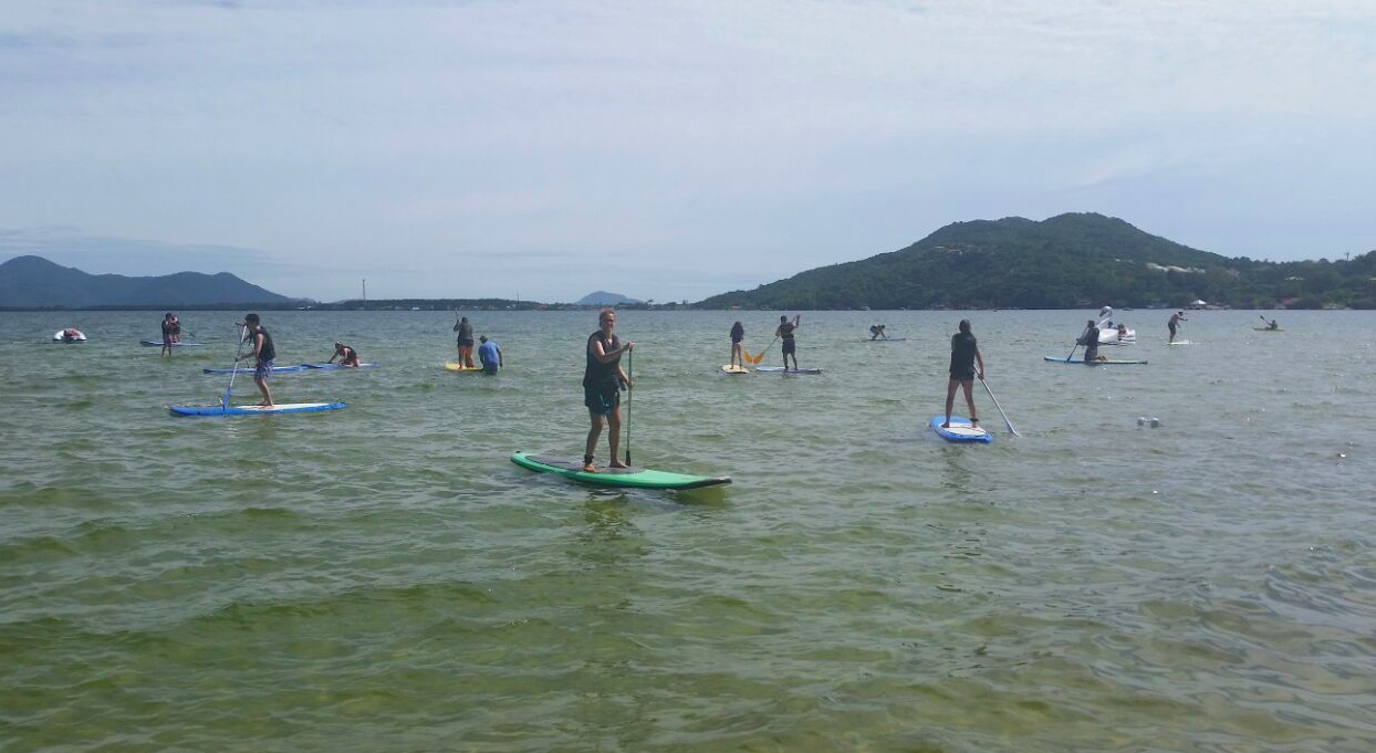 stand up paddle lagoa