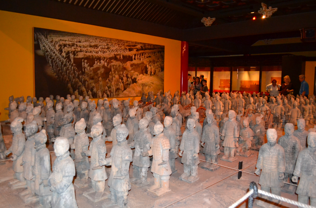 Réplica do Exército de Terracota.