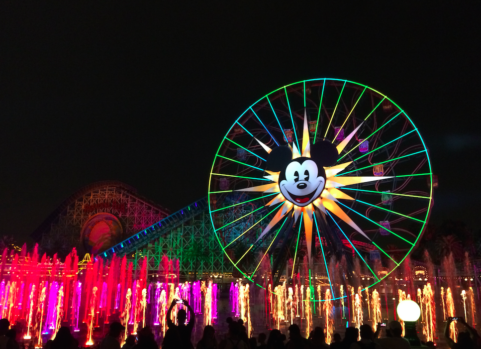disney world of color show