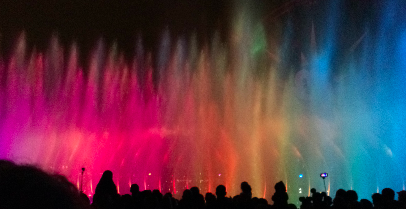 disney world of color