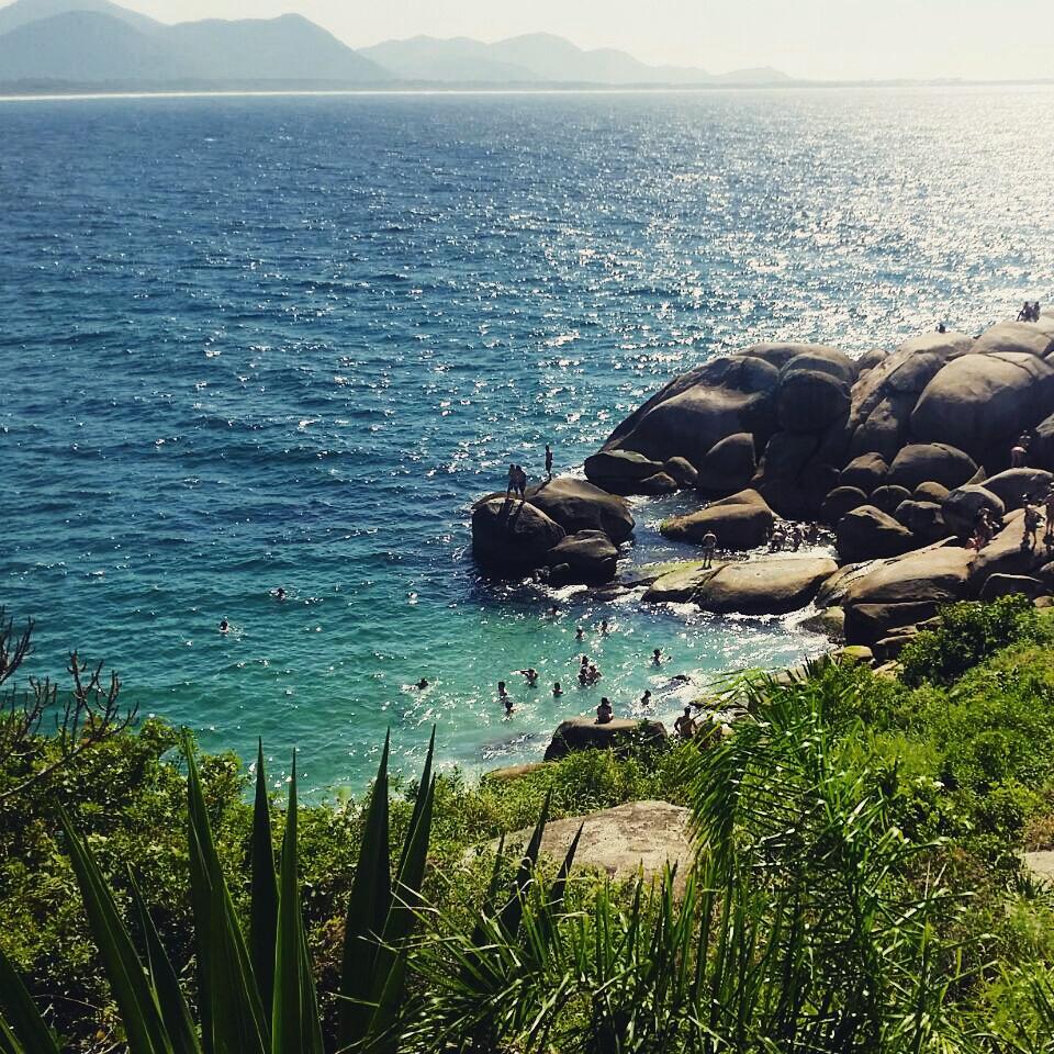 Piscinas Naturais – Barra da Lagoa – Florianópolis/SC