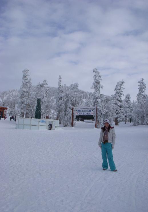 Em Heavenly, um dos meus trabalhos era na loja da estação de ski, então tinha passe grátis pra montanha. :)