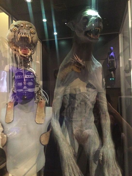 lobo animatronico