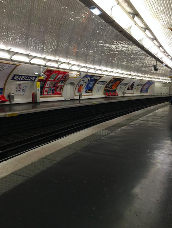 metro paris