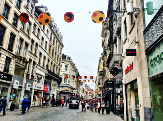 bruxelas rua