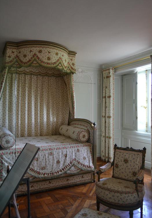 Queen's Room - Maria Antonieta ocupou esse quarto de 1777 a 1789!