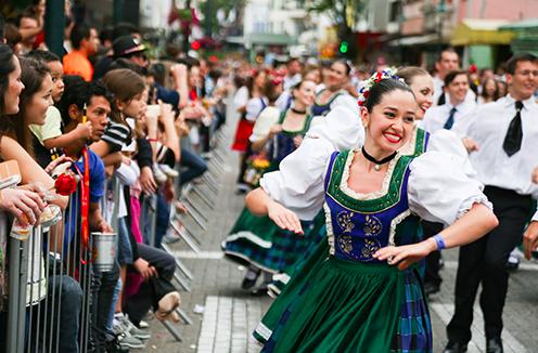 Foto tirada do site oficial: http://www.oktoberfestblumenau.com.br
