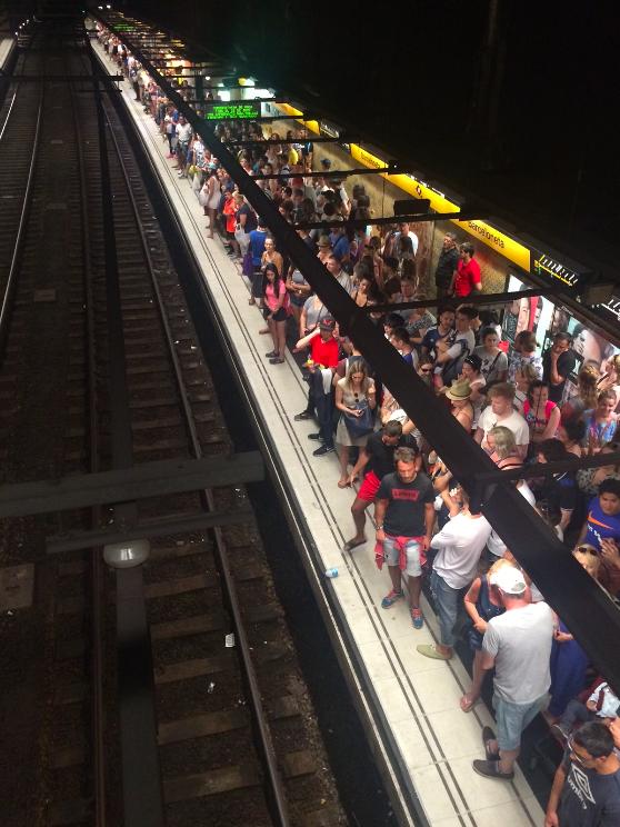 Sente nosso drama na greve de metrô!