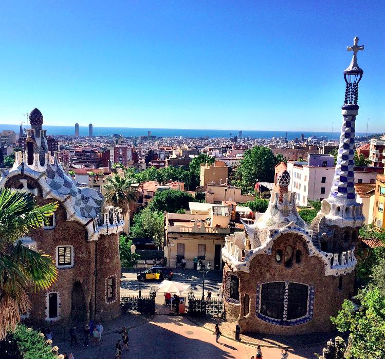 Roteiro de 4 dias em Barcelona – Dia 3 (Park Guell, Barceloneta e balada!)