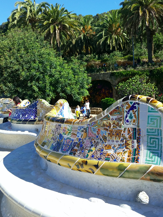 Detalhes da Praça Oval