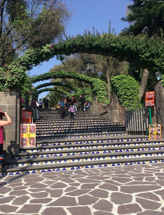 Escada para o Monte Tepeyac