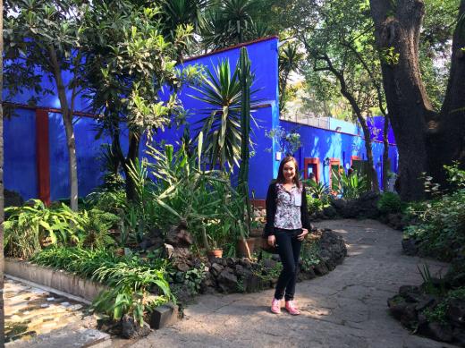 jardim frida cidade do mexico