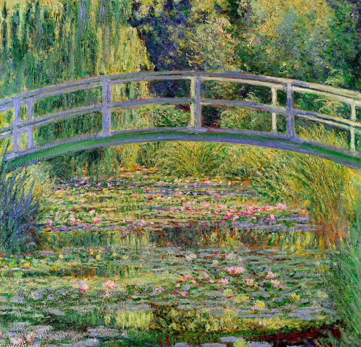 The Water Lily Pond - 1899