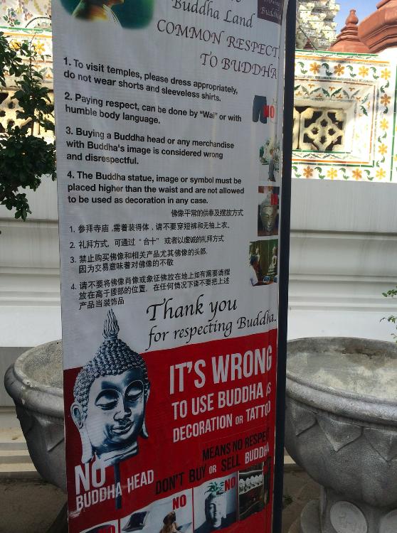 aviso templo