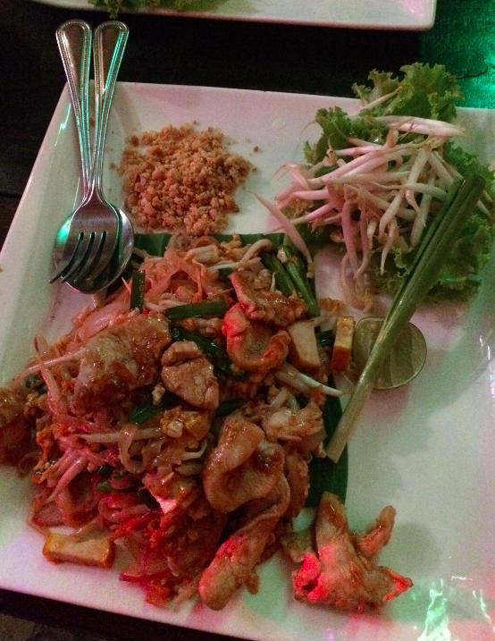 Meu primeiro Pad Thai, doce! :(