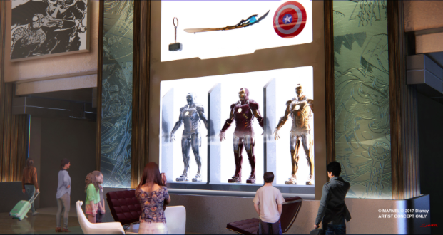 the art of marvel hotel