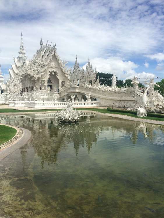 white temple photo