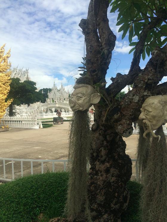 white temple simbols