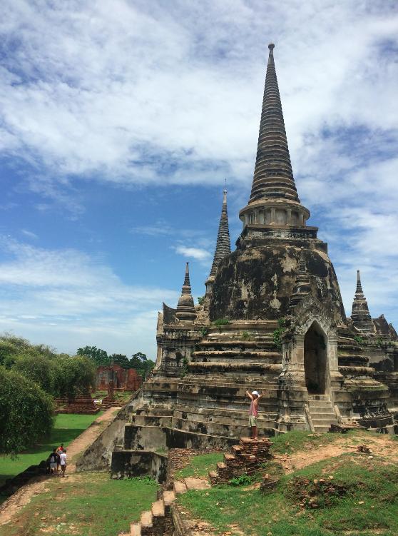 Wat Phra Si Sanphet tailandia