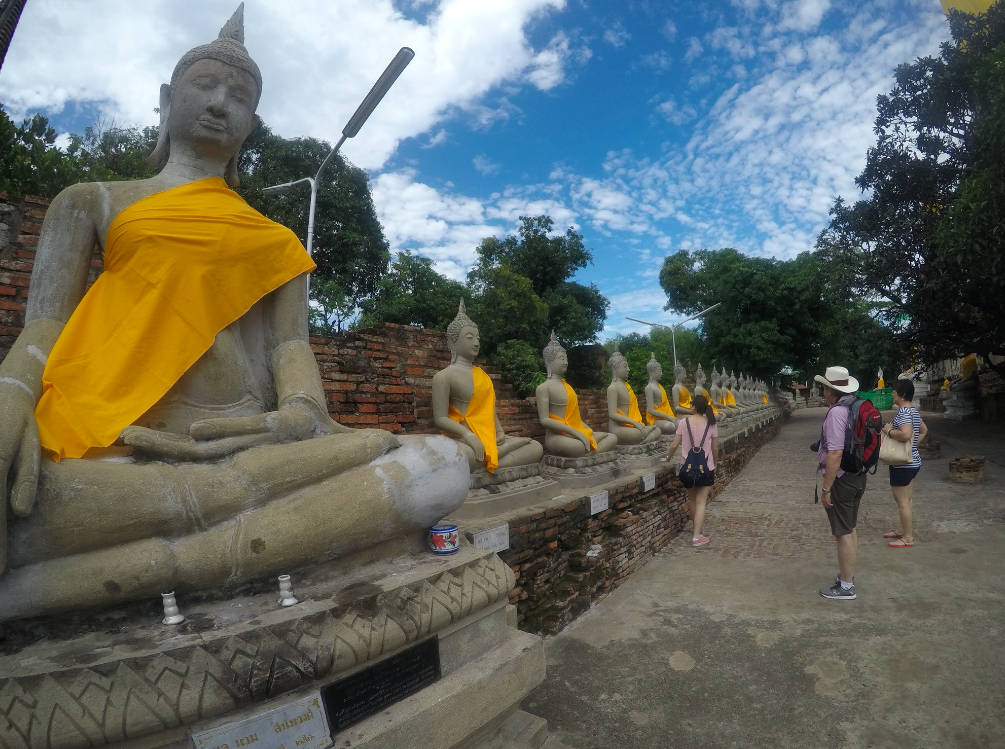 Wat Yai Chai Mongkol thailand