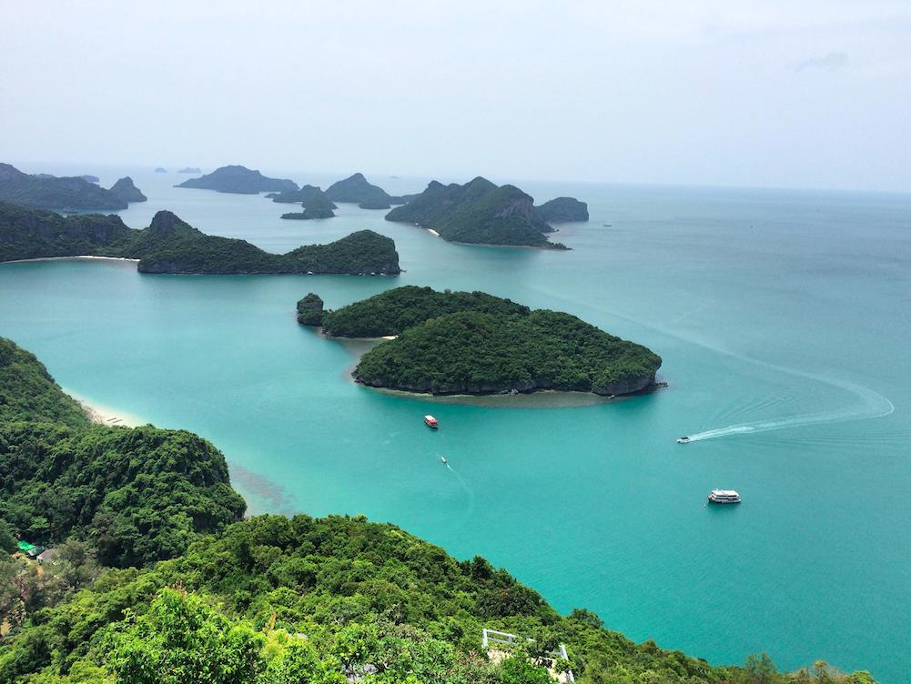 Angthong Marine Park – visitando algumas ilhas lindas da Tailândia