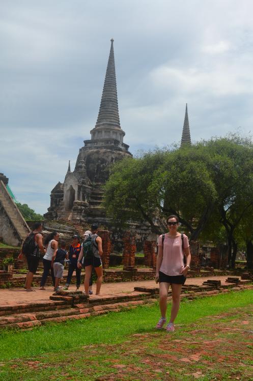 wat phra si sanphet ayutthaya tailandia