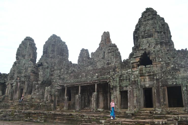 bayon temple camboja
