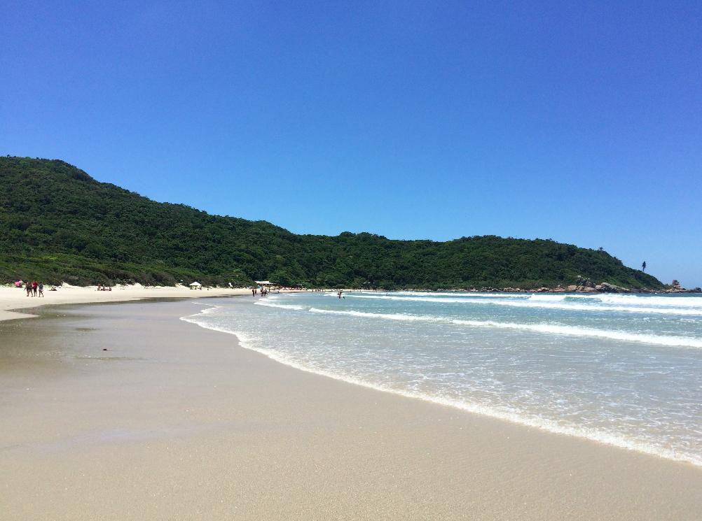 Trilha para a Praia de Naufragados – Florianópolis