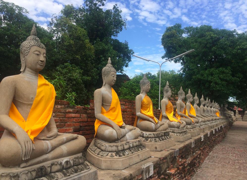 Bate-volta de Bangkok para Ayutthaya, é imperdível!