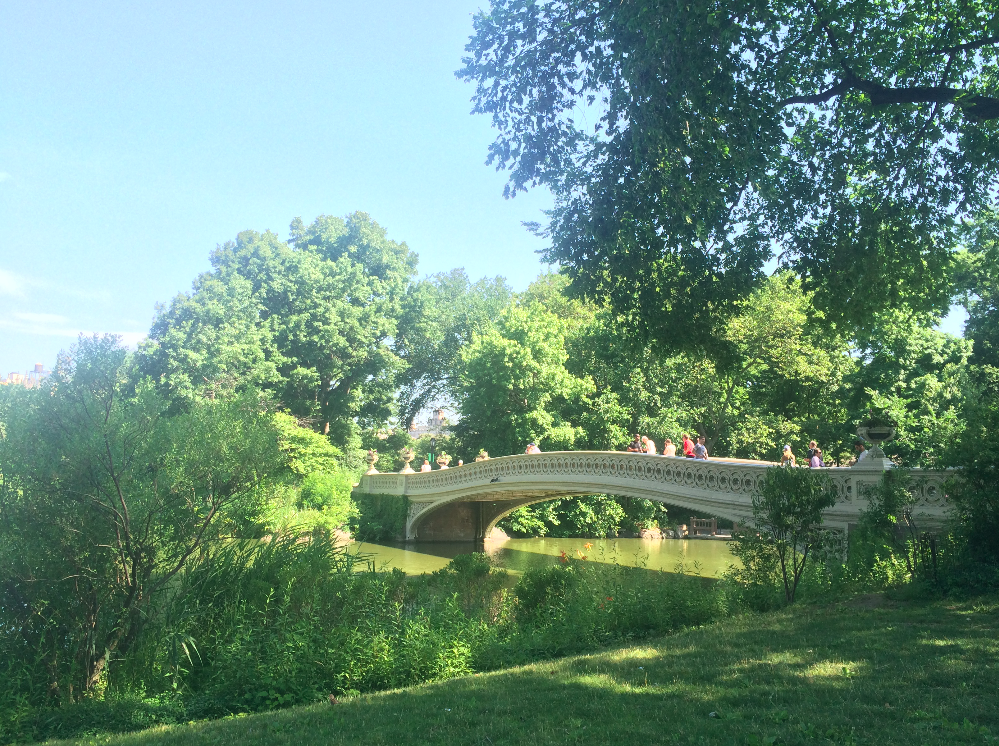 bow bridge central park