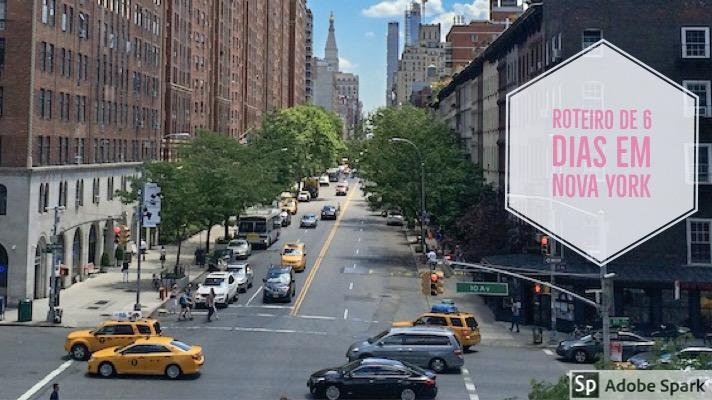 6 dias em Nova York – Roteiro