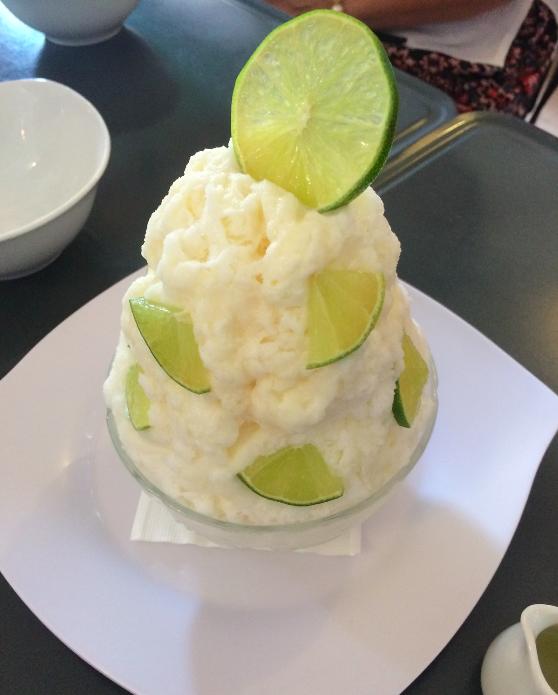 O sorvete gigante da Fresh Fruit Factory