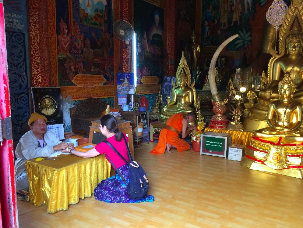 chiang mai tailandia templo