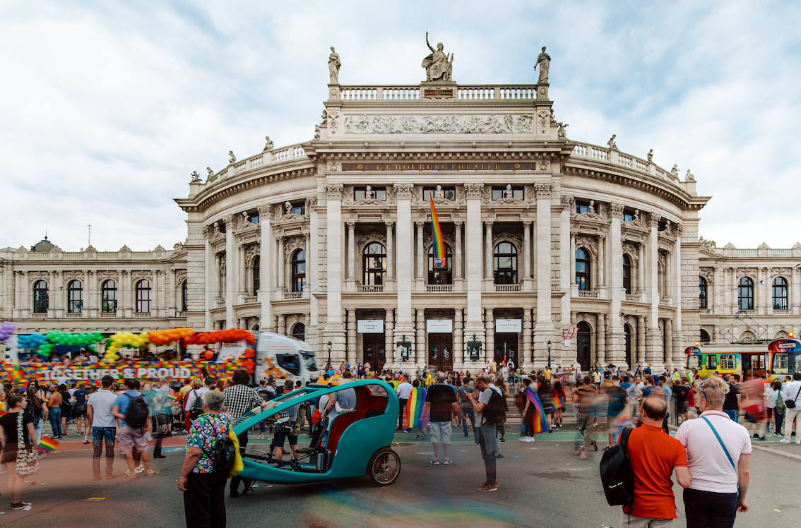 50529 Rainbow Parade at Rathausplatz © WienTourismus-Paul Bauer